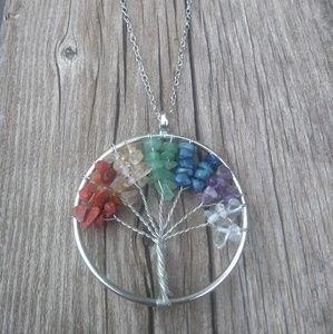 Jewelry - Chakra Tree of Life necklace